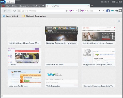 IceDragon - Alternative Web Browsers