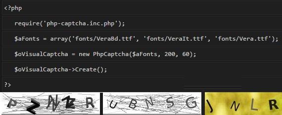 PHP CAPTCHA