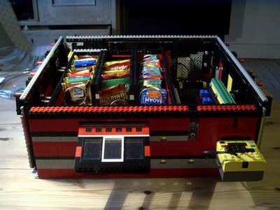 Vending Machine made of lego