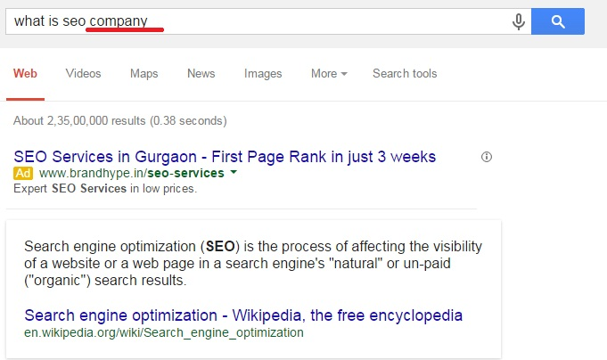 what is seo company