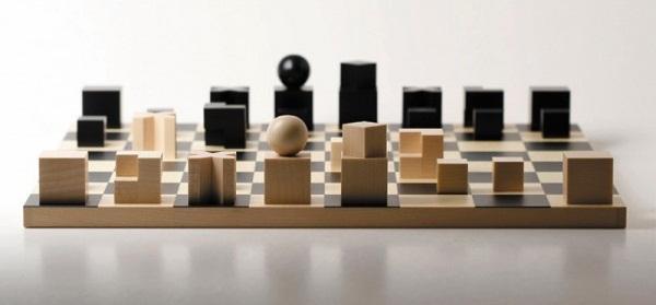 Bauhaus Chessmen