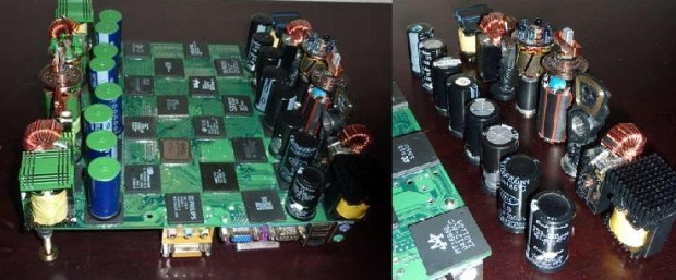 Motherboard chess