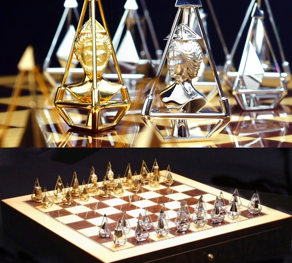 Royal Diamond Chess Set