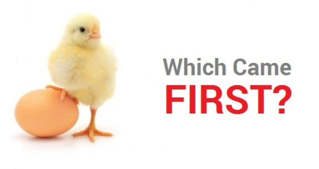 egg or chicken problem