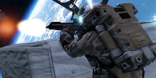 gun in space