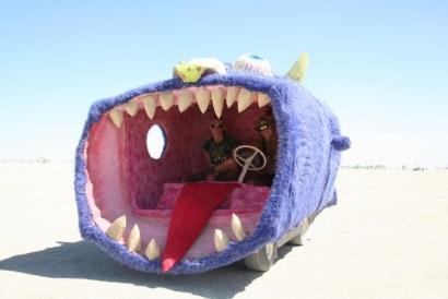 Angry Shark Car