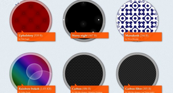 CSS3 Pattern Gallery