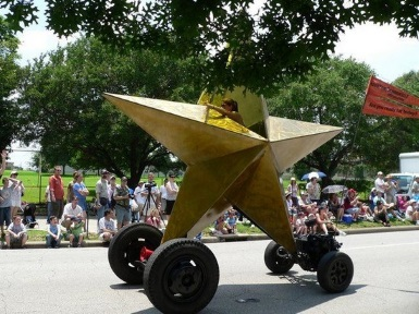 Star Shape Vehicle