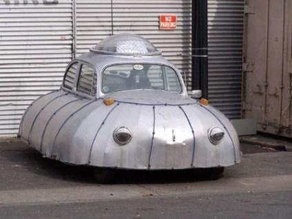 UFO Like Car