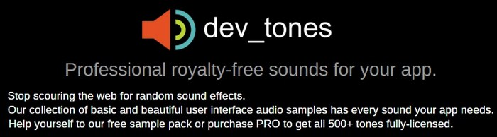 Dev_tones