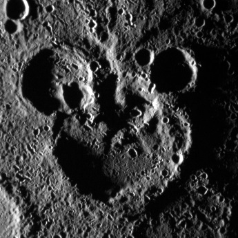 Mickey Mouse Crater