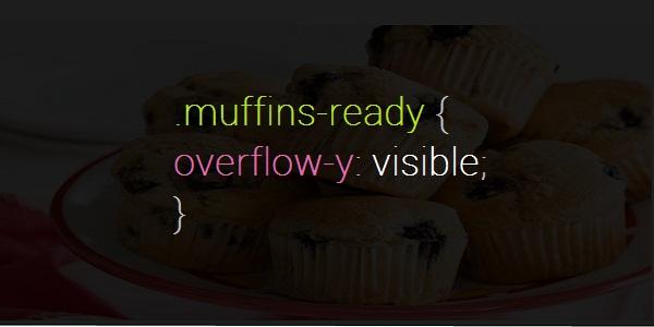 CSS puns - muffins