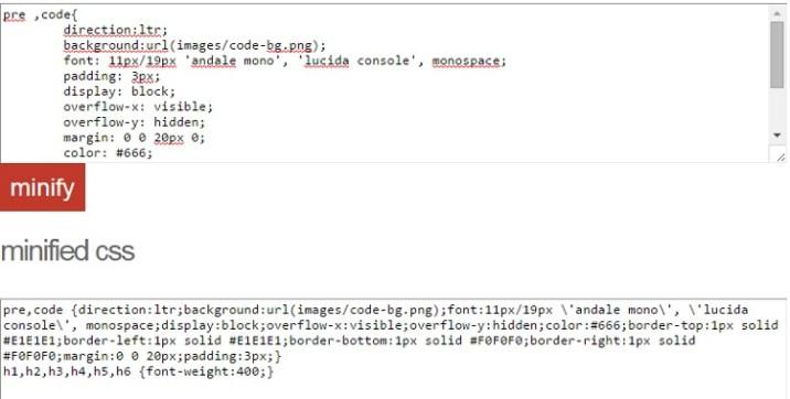 35+ Tools to Minify Code (JavaScript, CSS & HTML) - RankRed