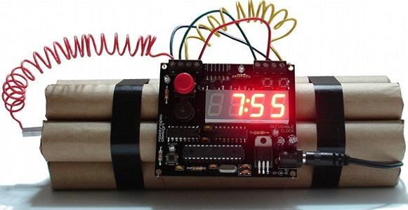 Defusable Alarm Clock Kit