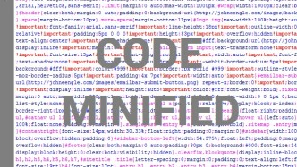 Tools to Minify Code