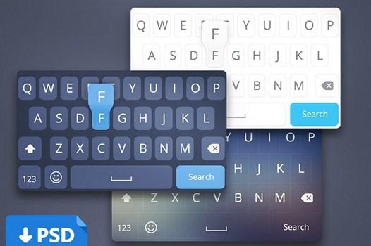 iOS8 keyboard concepts