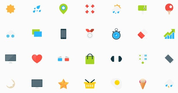 Tiny Vector Icons