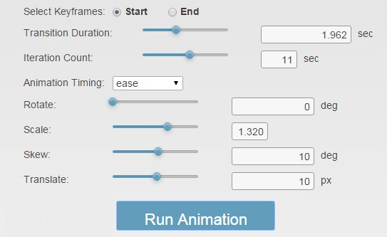 CSS3Gen Animation