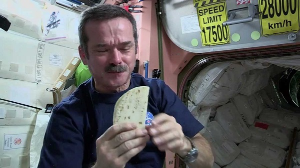 Food Doesnt Taste Same In Space