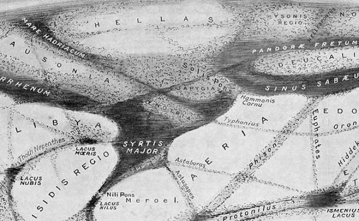 martian canal