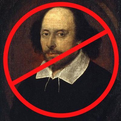 No Shakespeare