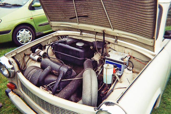 Trabant 2 stroke engine