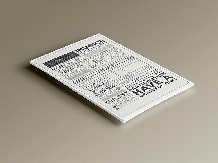 event invoice