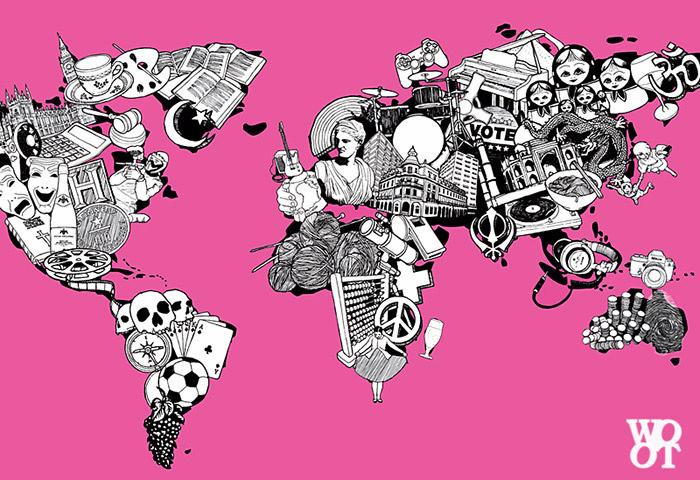 World Map Illustration