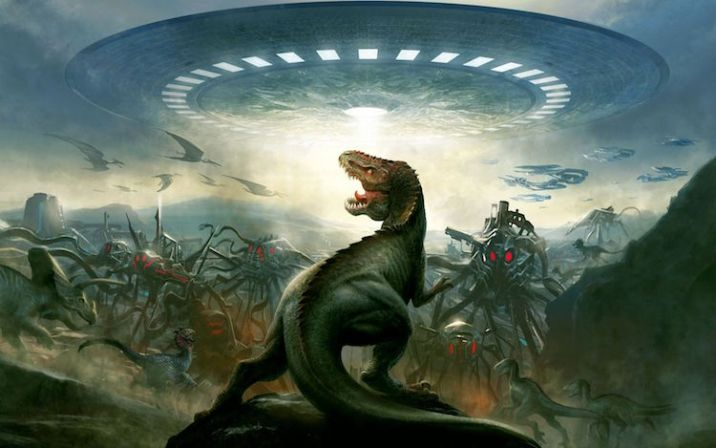 could aliens see Dinosaurs