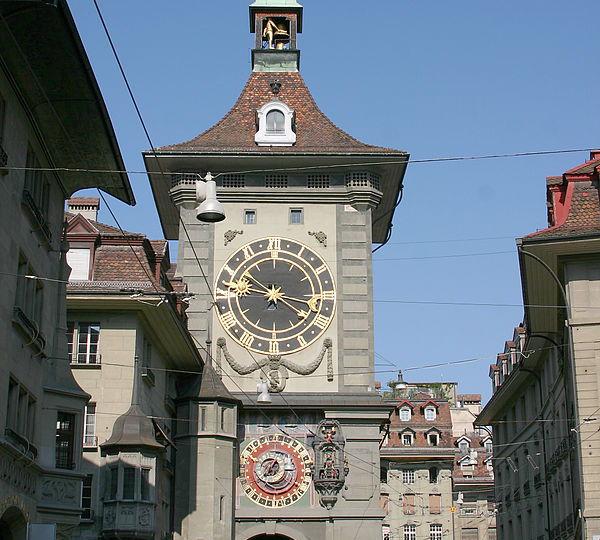 Zytglogge Tower Clock