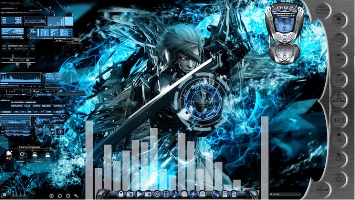 28 Stunning Rainmeter Skins of 2019 - RankRed