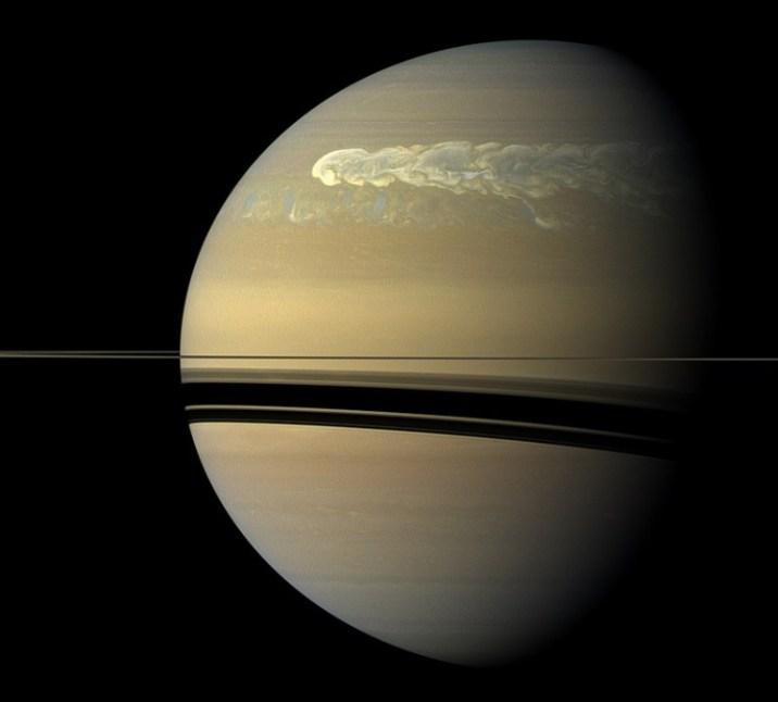Saturn's clouds