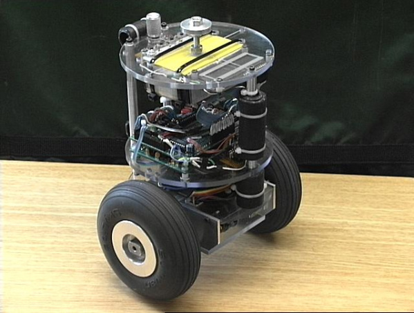 two wheeled robot