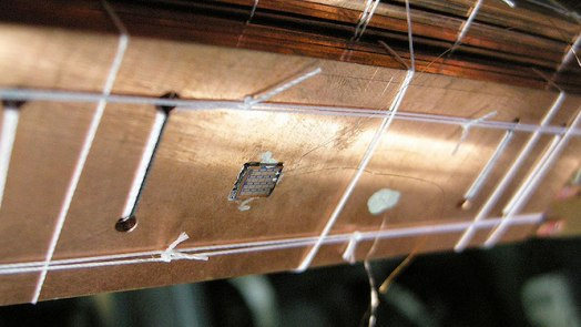 Coldest Nanoelectronic Chip