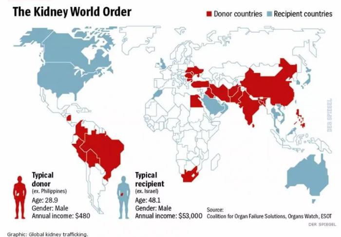 Human Organs Trafficking
