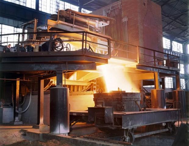 steel furnance