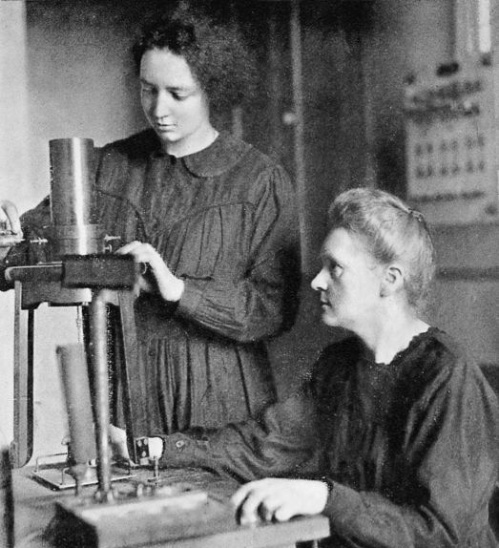 Irene and Marie Curie 1925
