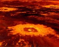 Venus crater