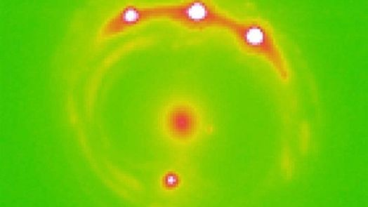 Exoplanets Discovered Beyond Milky Way - Quasar Microlensing