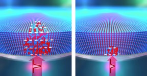 laser beam can write and delete magnets