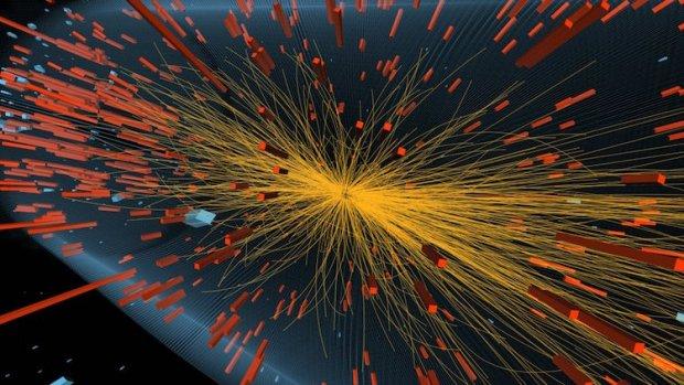 Quark-Gluon Plasma created in high energy collision