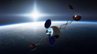 Sling Sat removing space junk