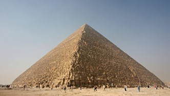facts of the pyramid of giza