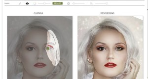 Faceshop web interface