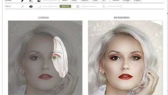 Faceshop web interface