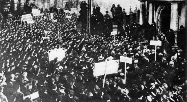 German Revolution in 1918