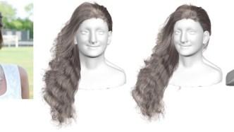 HairNet for rendering 3D Hair