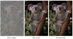 AI Can Fix Extremely Noisy Images