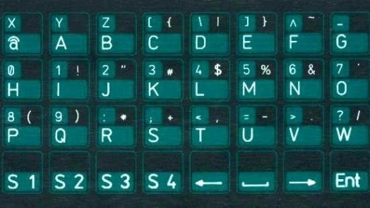 Robotron Z1013 membrane keyboard