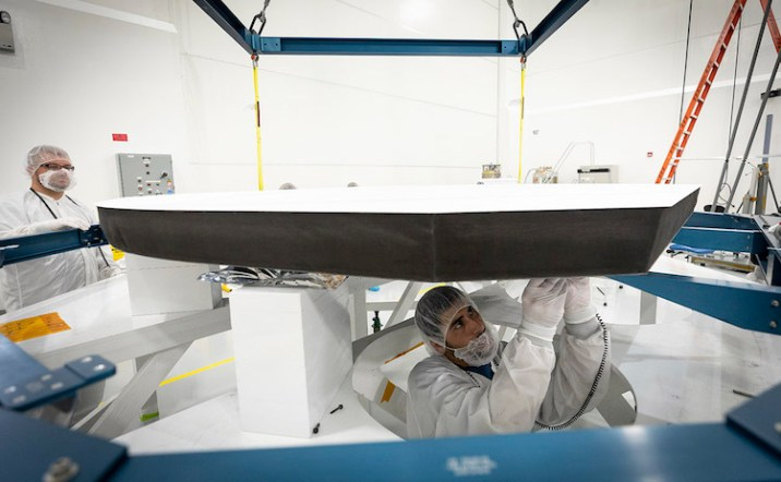 Parker solar probe Heat Shield